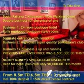 Pattaya Gentlemen's Club + 24 room Hotel