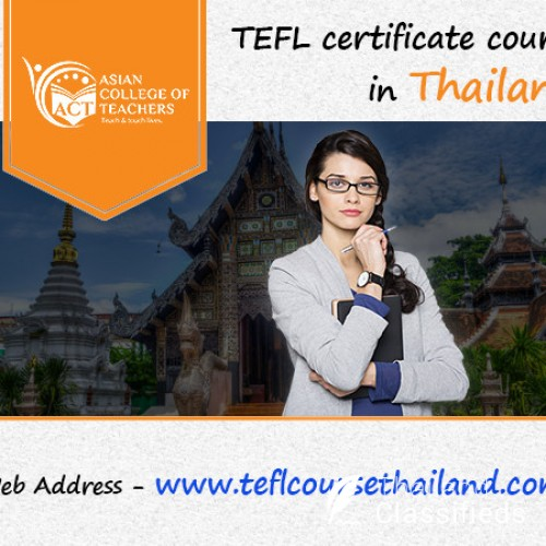 Varieties of TEFL courses in Thailand offered by ACT