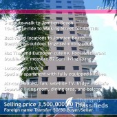 Jomtien View Talay 2A 82 Sqm Unit
