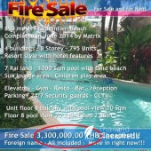 Jomtien Amazon Condo 2 Bedroom Fire Sale