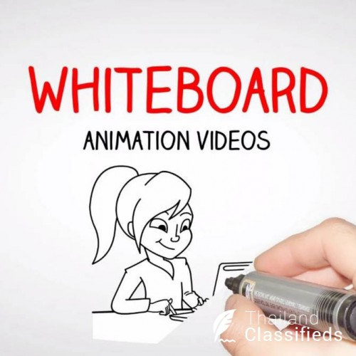 Custom whiteboard animation video, explainer video (Bangkok)