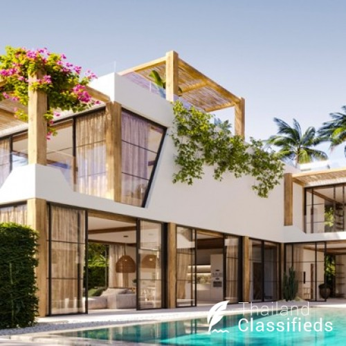 Sumptuous New 3 Bed Seaview Villas by Bangrak Beach, Koh Samui