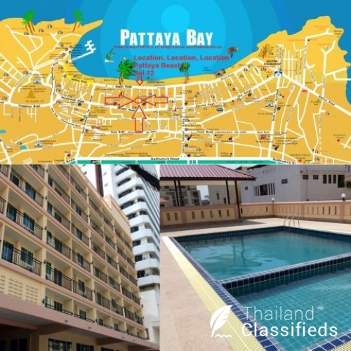 Pattaya Center New 75 Room Hotel Sale